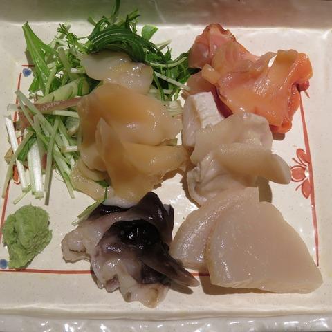 貝刺盛(寿司田)3240