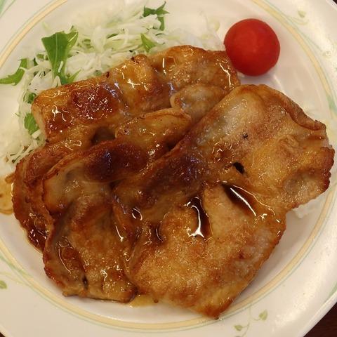 生姜焼定食(レパスト)550