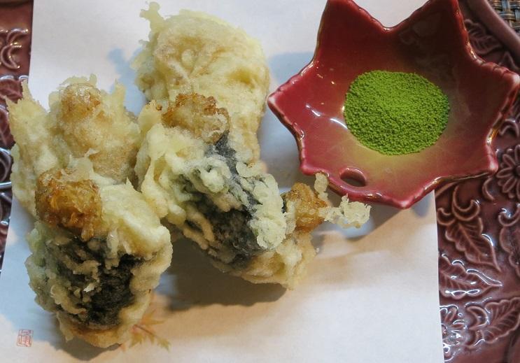 自然薯天ぷら