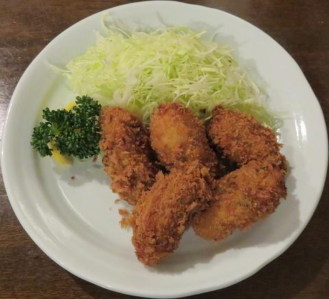 かきフライ定食(勝烈庵)2106