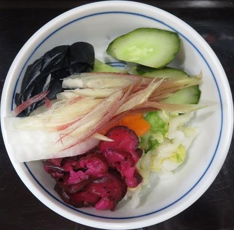 漬物(山ぎし)