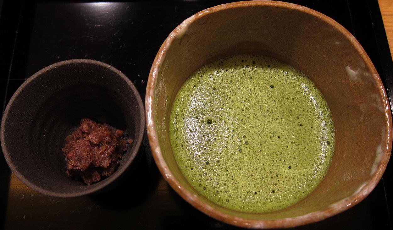小豆と抹茶