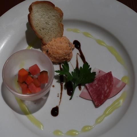 前菜(ガルロネロ)