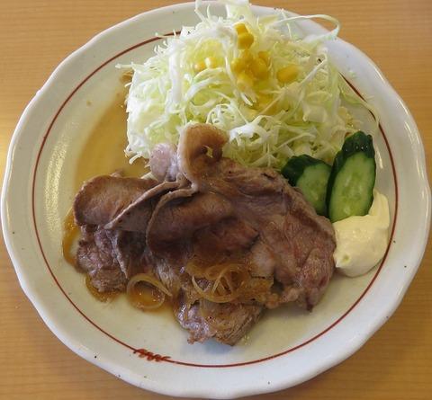 生姜焼定食(山王夢食堂)800