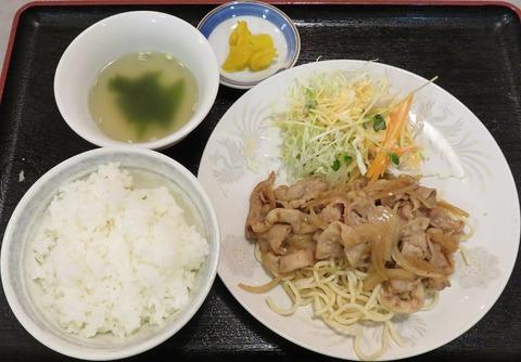 生姜焼定食800