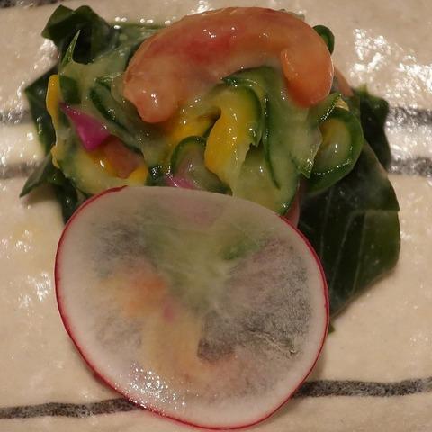 赤貝酢味噌(蒼樹庵)