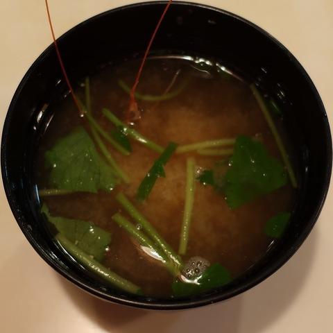 味噌汁(旭鮨)