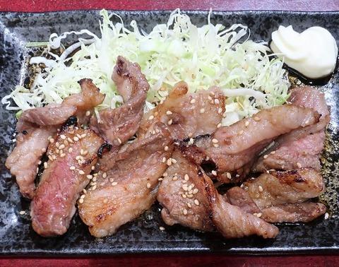 牛カルビ焼定食(宏平)1320