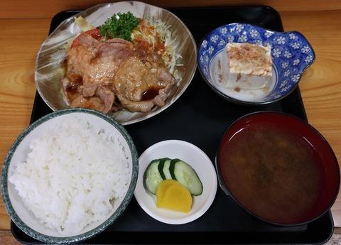 生姜焼定食(ひの)950