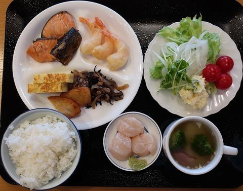 朝食バイキング(なぎさ)1050
