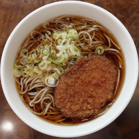 コロッケそば(いろり庵)390