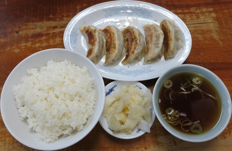 餃子+ライス