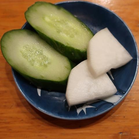 漬物(幸寿司)