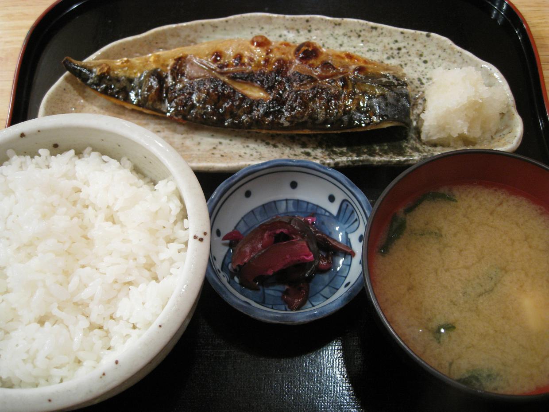 焼魚定食(鯖)