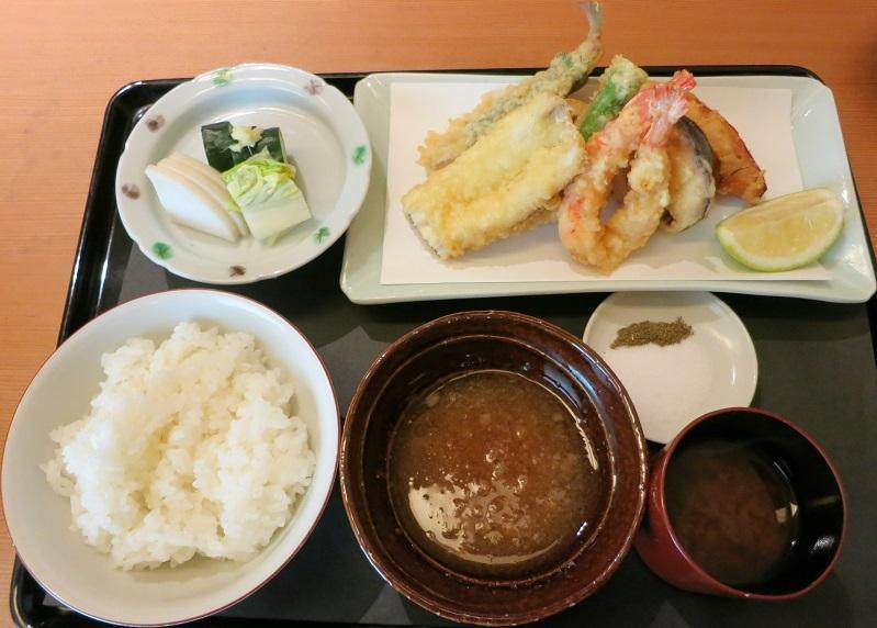 天ぷら盛合せ御飯