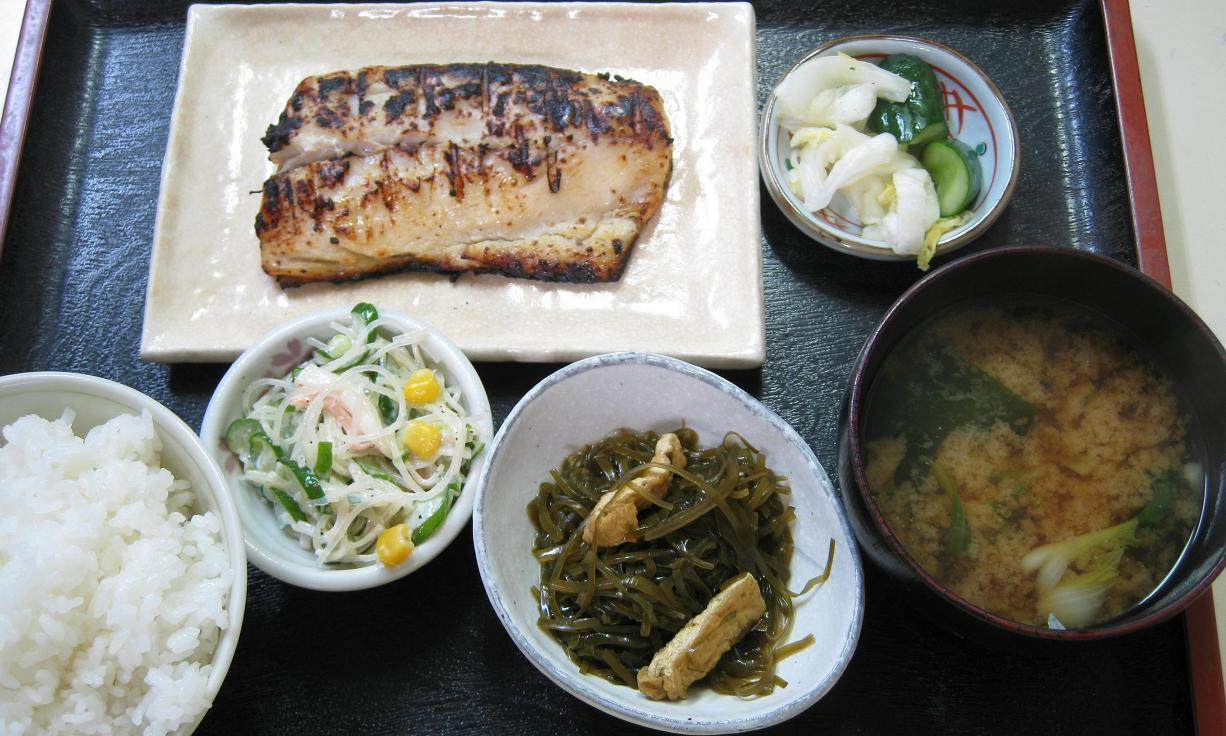 鰆西京味噌漬焼定食