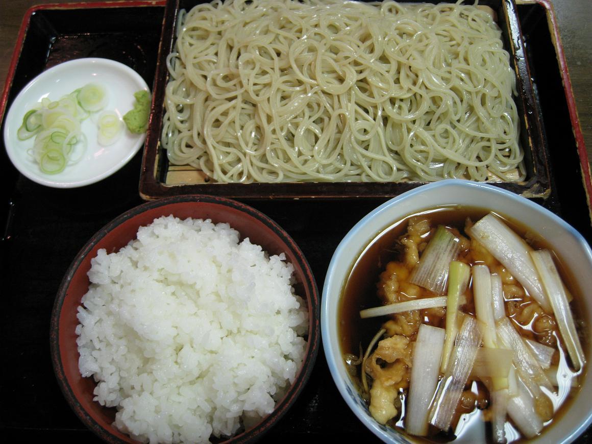 葱蒸篭+小御飯