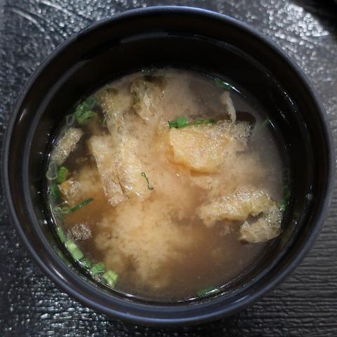 味噌汁(カンフォーラ)