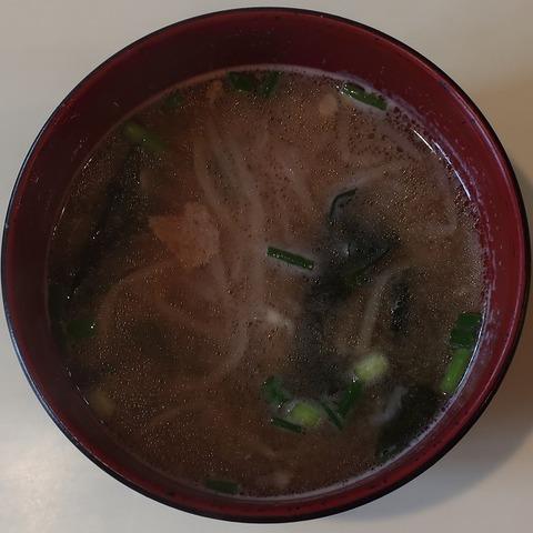 味噌汁(ジュノン)