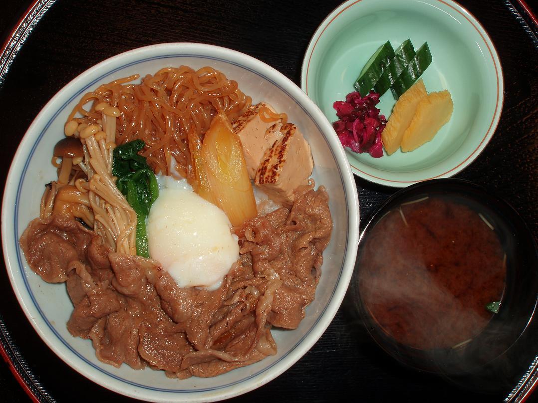 明治すきやき丼(1日限定20食)