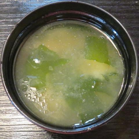 味噌汁(二葉鮨)