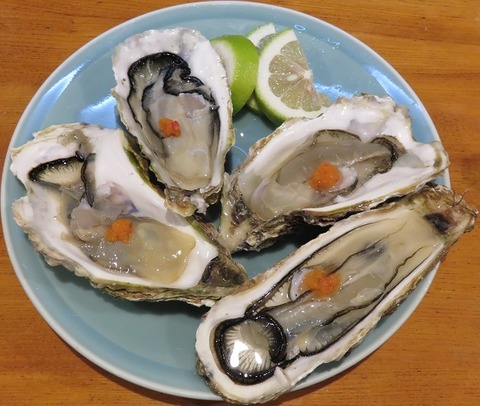 生牡蠣(入船)
