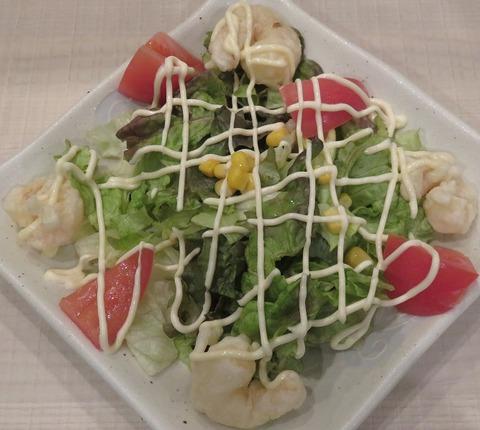 小エビとトマトのサラダ(若鯱家)561