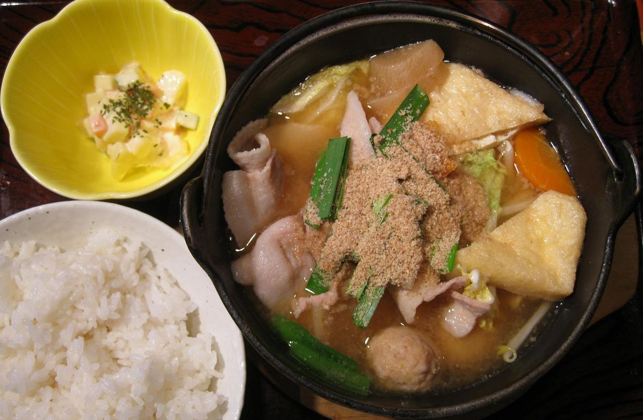 日替わりちゃんこ鍋定食