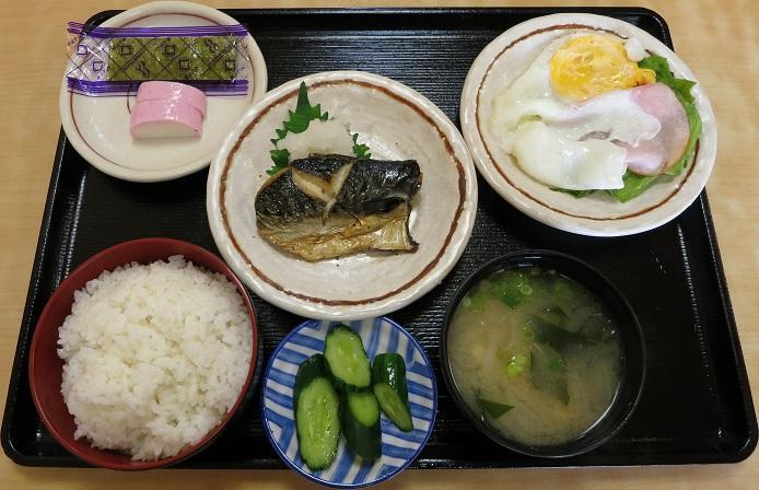 朝定食700円(コーヒー付き)