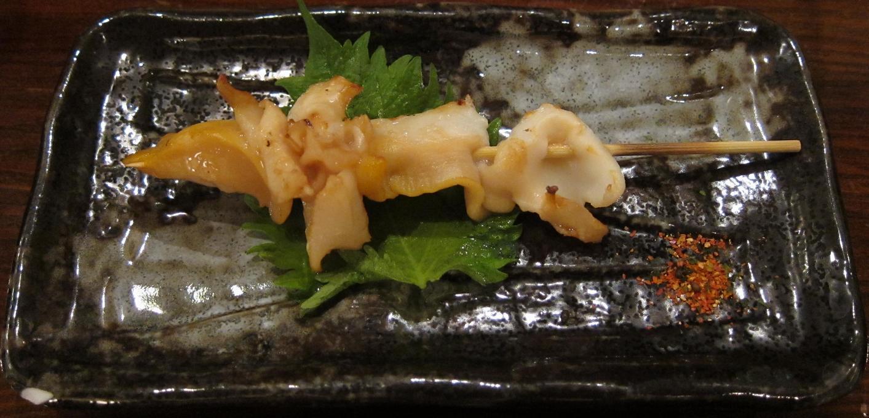 つぶ貝串焼