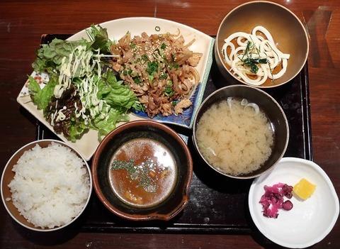日替定食(シャルル)600