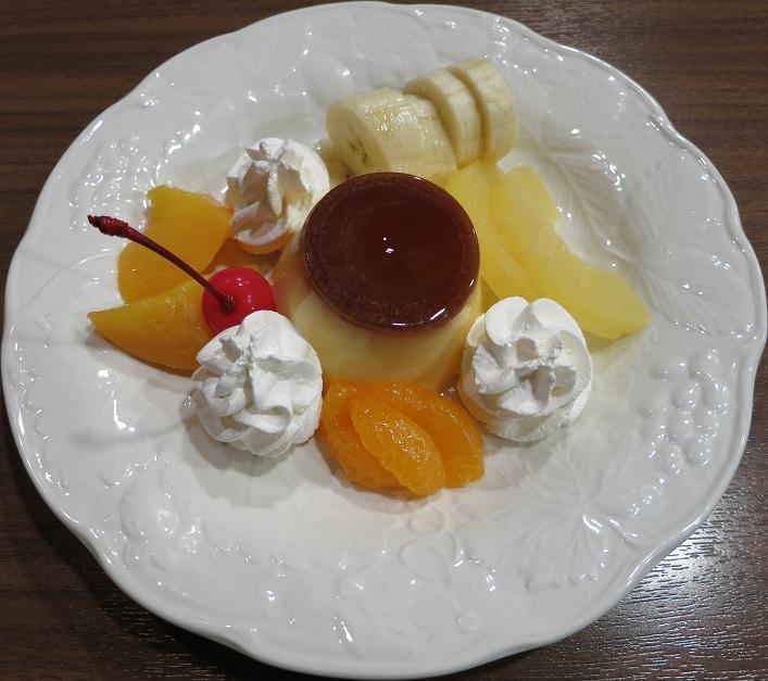 プリン550円