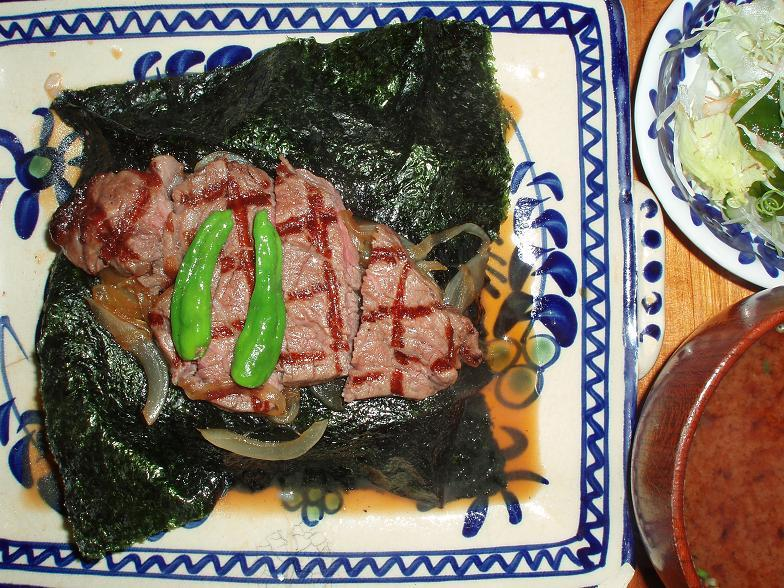 黒毛和牛フィレビフテキ丼
