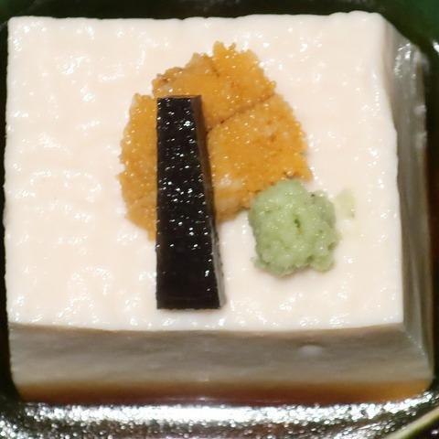 胡麻豆腐(蒼樹庵)