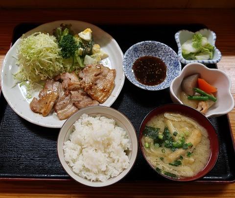 焼肉定食(たんぽぽ)910