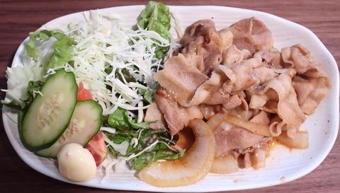 生姜焼定食(ゑびす屋)680