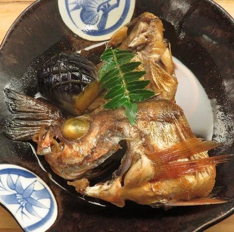 めばる煮付(魚仙)