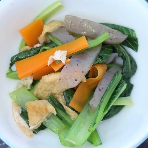 青菜の煮びたし(たんぽぽ)