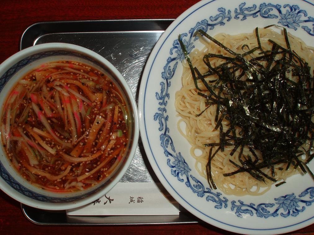 つけ中華麺