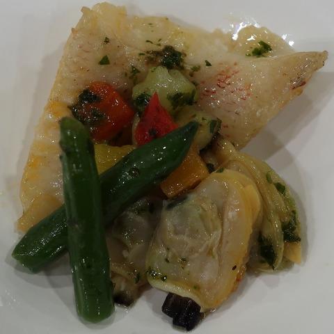白身魚のブイヤベース(ルクレール)