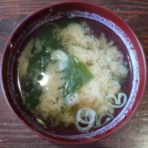 味噌汁(巴屋)