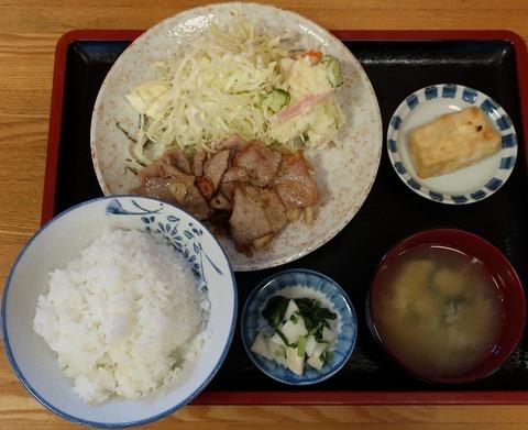 生姜焼定食(曙食堂)800