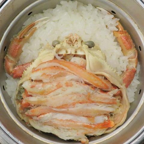 香箱蟹御飯②(福わ家)