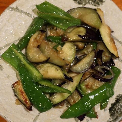 茄子ピーマン炒め(高砂)600