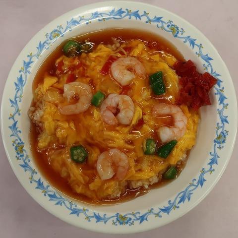 天津丼(北区役所食堂)500