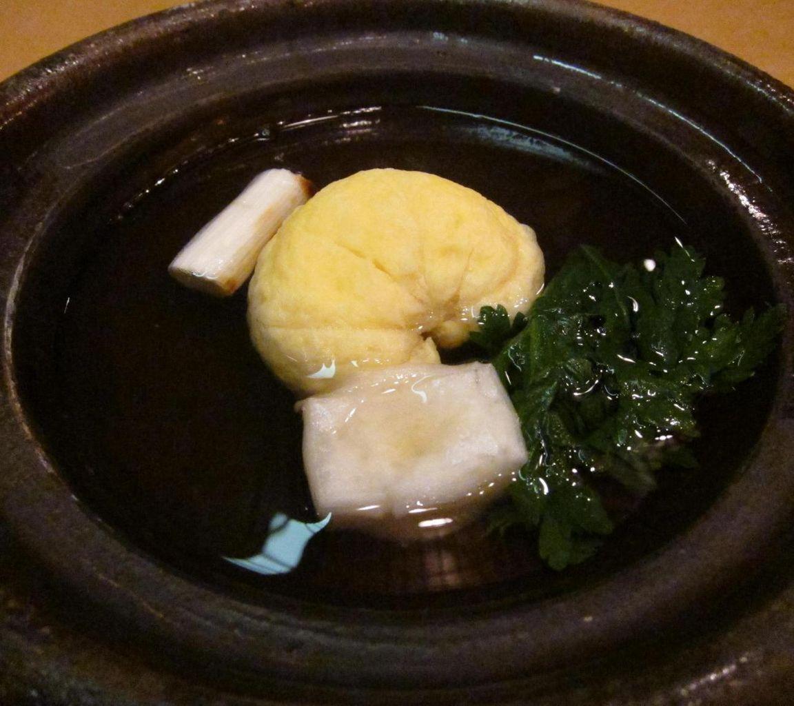 丸豆腐小鍋仕立て