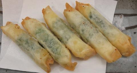 チーズと紫蘇の包み揚げ(たこ寅)450