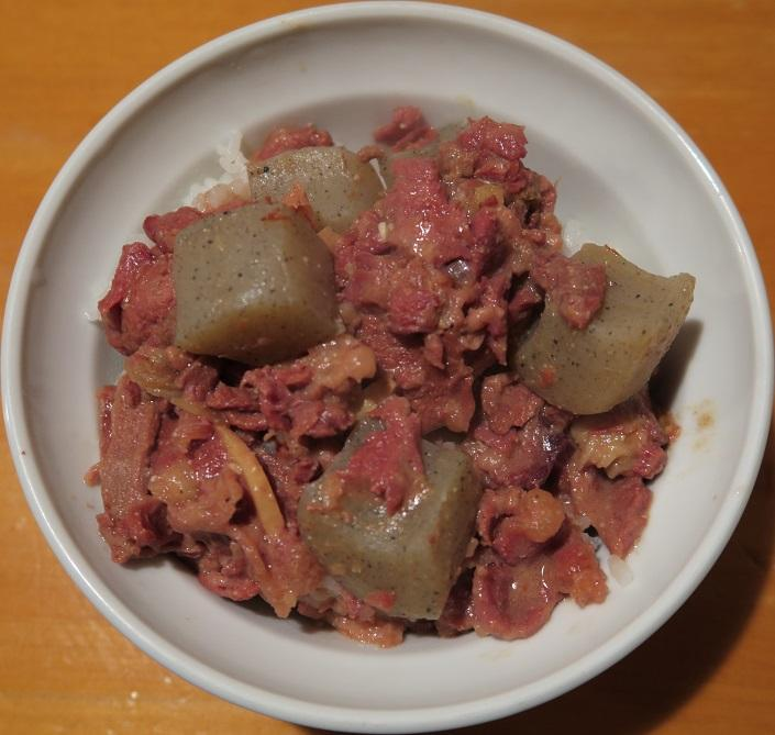 煮込丼(小)