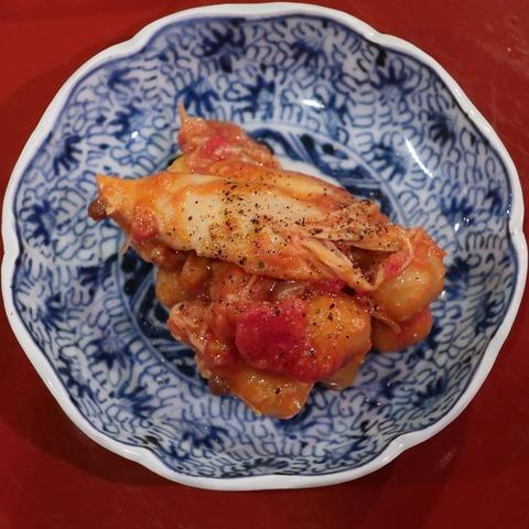 ひよこ豆トマト煮(燗の美穂)