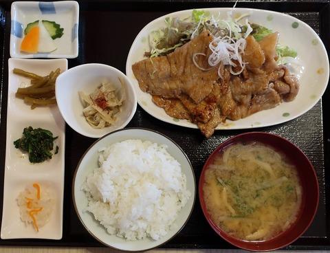 生姜焼定食(とんとん)980